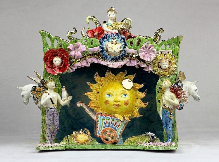 "Sculpture ""Sun Theater"", 2020"
