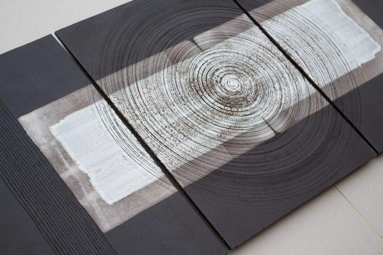 "Triptychon-Wandpaneel ""Zenith"""