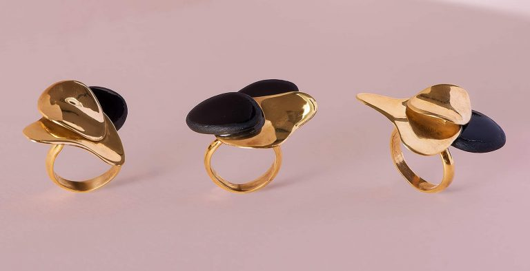 Ring Orchid Black