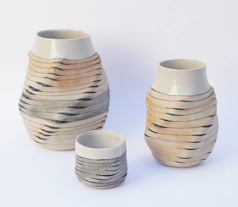 """Vasen """"Ribbon Vases"""""""
