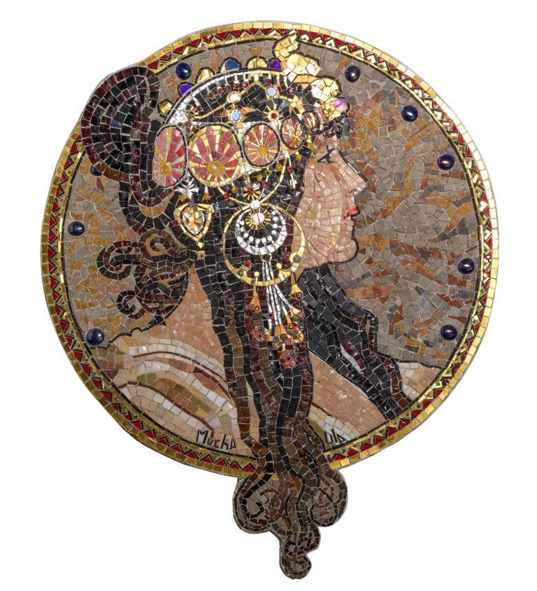 "Mosaik ""La Brunetta"""