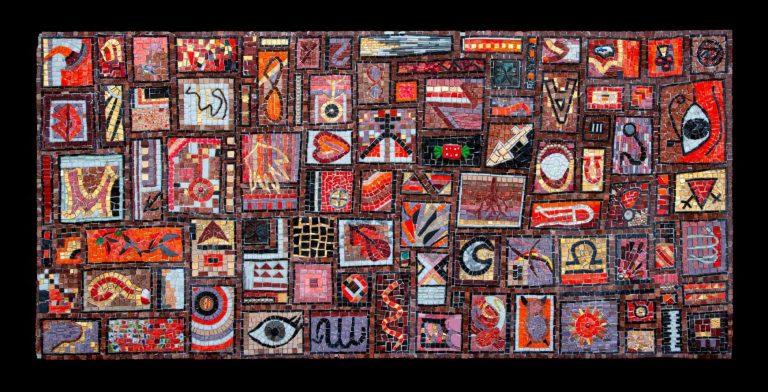 """Mosaik """"Red Autumn"""""""